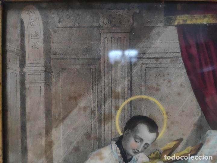 """Arte: """"Eclesiástico"""", grabado pintando, del finales del siglo XIX. - Foto 4 - 277048488"""