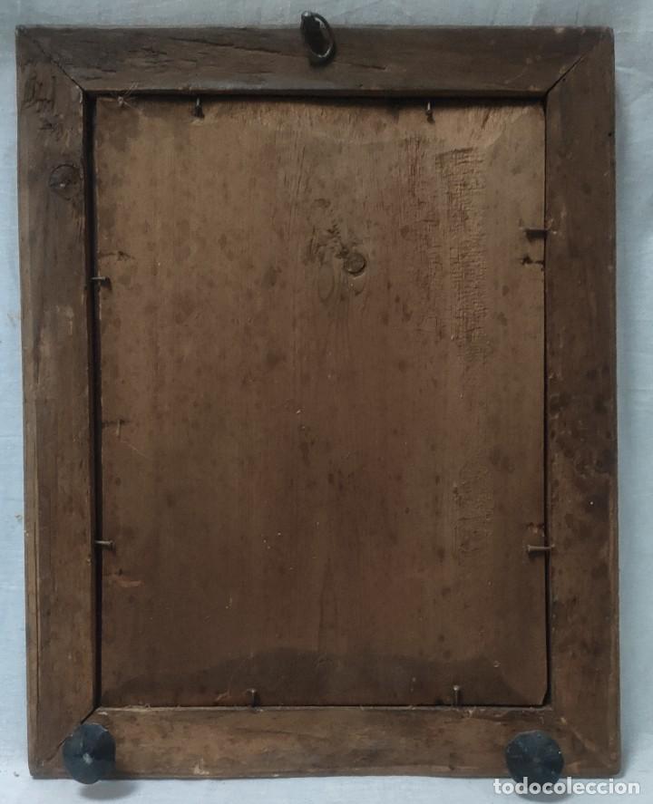 """Arte: """"Eclesiástico"""", grabado pintando, del finales del siglo XIX. - Foto 6 - 277048488"""