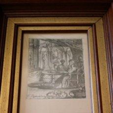 Arte: F. RIGER: IANUARIUS, LA MUERTE, AGUAFUERTE, C. 1780. Lote 277144828