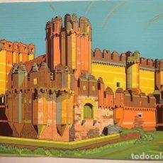 Art: CASTILLO DE COCA. SEGOVIA. SERIGRAFIA. - GLESS. NICOLAS, (AUTOR). Lote 277479403