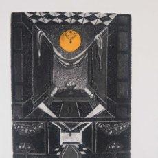 Arte: GRABADO 169/200 INTERIOR ESTANCIA FIRMADO A LÁPIZ AMÈLIA HIENA. Lote 277517878