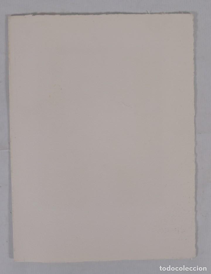 Arte: Grabado 169/200 Interior estancia firmado a lápiz Amèlia Hiena - Foto 6 - 277517878