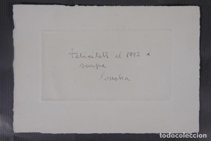 Arte: Concha Ibañez grabado P/A Paisaje firmado a lápiz y fechado 1991 - Foto 5 - 277518118