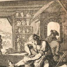 Arte: CERAMISTA, 1730. LUYKEN. Lote 277584063