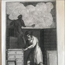 Arte: FABRICANTES DE JABÓN, 1823. ANÓNIMO. Lote 277700988