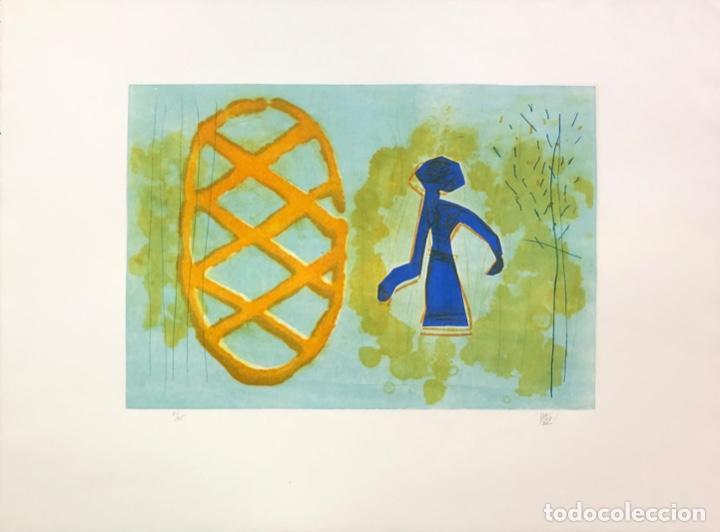 JOAN DESCARGA - GRABADO - (Arte - Grabados - Contemporáneos siglo XX)