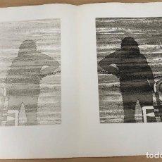 Arte: GRABADO AGUAFUERTE EL MITO DE LA CAVERNA. JOSE LUIS VERDES. AÑO 1977. Lote 278359478