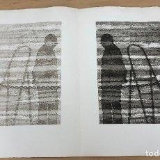 Arte: GRABADO AGUAFUERTE EL MITO DE LA CAVERNA. JOSE LUIS VERDES. AÑO 1977. Lote 278359723