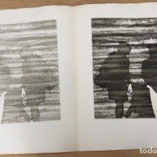 Arte: GRABADO AGUAFUERTE EL MITO DE LA CAVERNA. JOSE LUIS VERDES. AÑO 1977. Lote 278359848