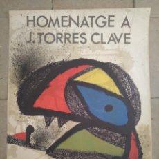 Arte: CARTEL LITOGRÁFICO DE JOAN MIRÓ. Lote 278595263