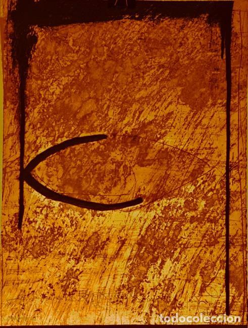 ENRIC CORMENZANA. SIN TÍTULO CARBORUNDO Y AGUAFUERTE (Arte - Grabados - Contemporáneos siglo XX)