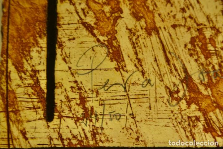 Arte: ENRIC CORMENZANA. Sin título Carborundo y aguafuerte - Foto 6 - 278625098