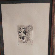 Arte: GRABADO ORIGINAL, PUNTA SECA. Lote 279564233