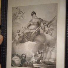 Arte: PRECIOSO Y ANTIGUO GRABADO MARÍA LUISA DE BORBON REYNA DE ESPAÑA. Lote 280608908