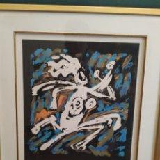 Arte: GRABADO LITOGRÁFICO ORIGINAL FIRMADO Y ENUMERADO POR EL ARTISTA. Lote 283132988
