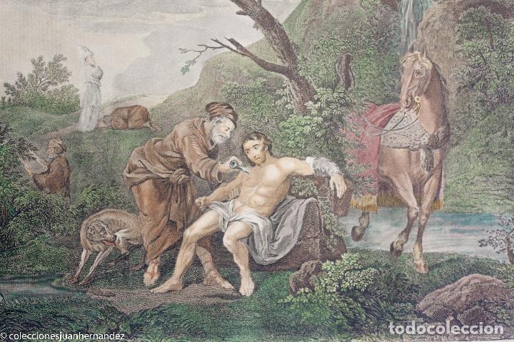 THE GOOD SAMARITAN - SIMON RAVENET - J M DELATRE - BOYDELL 1772 (Arte - Grabados - Antiguos hasta el siglo XVIII)