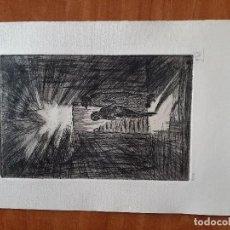 Arte: GIL MORENO DE MORA : AGUAFUERTE - INFIERNOS. Lote 285367998