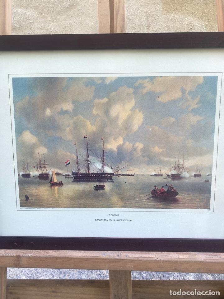 Arte: Grabado J. MOREL WILHEIM II EN VLISSINGER 1843 - Foto 2 - 285388733