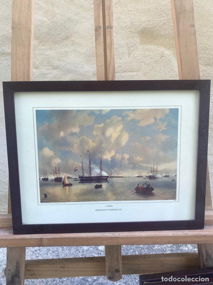 GRABADO J. MOREL WILHEIM II EN VLISSINGER 1843 (Arte - Grabados - Contemporáneos siglo XX)