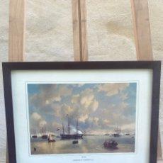 Arte: GRABADO J. MOREL WILHEIM II EN VLISSINGER 1843. Lote 285388733