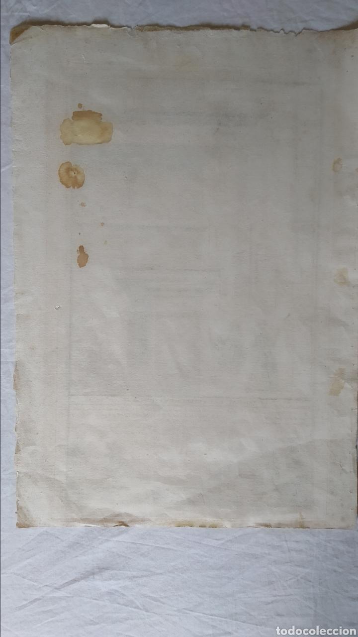 Arte: GRABADO TRATADO DE ARQUITECTURA DE VIGNOLA. ED. DE 1767 - Foto 4 - 286184548