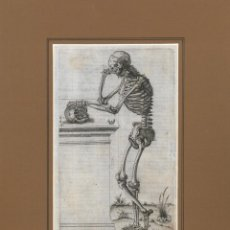 Arte: 26 GRABADOS AL COBRE ORIGINALES DEL SIGLO XVI-HAMUSCO. HISTORIA DE LA COMPOSICIÓN DEL CUERPO HUMANO. Lote 286697693