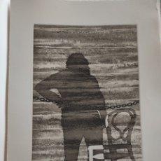 Arte: JOSE LUIS VERDES. GRABADO AGUAFUERTE FIRMADO Y NUMERADO A LAPIZ. XIV/XX. EL MITO DE LA CAVERNA.1977.. Lote 287338943