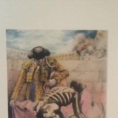 Arte: LIBRO GRABADOS VICENTE ARNAS HOMENAJE AL TORERO JOSE TOMAS. Lote 287367678