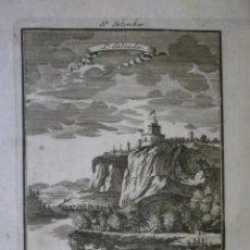 Arte: GRABADO DE SAN SALVADOR. SIGLO XVIII. LEER BIEN LA DESCRIPCIÓN ANTES DE PUJAR O COMPRAR.. Lote 287470213