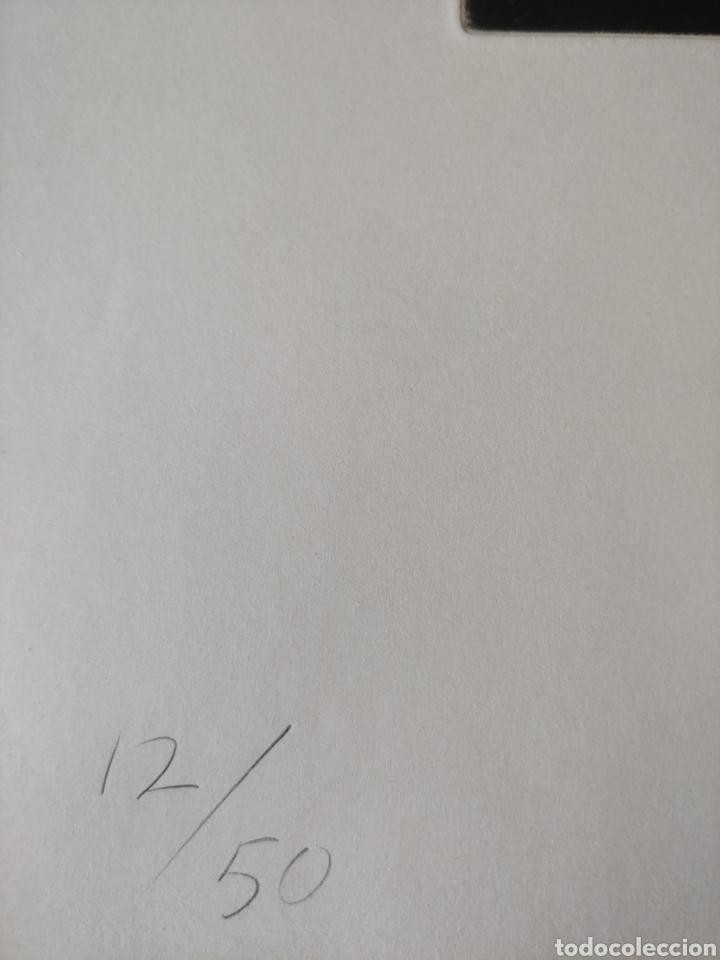 Arte: Miguel Condé. Aguafuerte firmado y numerado. - Foto 4 - 287678543