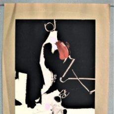 Arte: SERIGRAFÍA ORIGINAL DE MANOLO MILLARES. SERIE MUTILADOS DE PAZ.. Lote 287836788