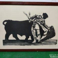 Arte: GRABADO TOREO CANDEMAN ?. Lote 287997568