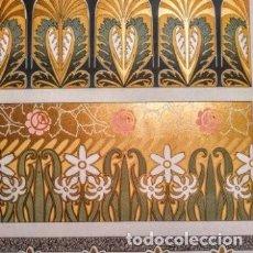 Arte: PRECIOSO GRABADO ART NOUVEAU CIRCA 1900 ANTIQUE UNIQUE. Lote 288535798