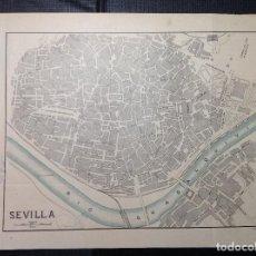 Arte: J. BROSSA. PLANO DE SEVILLA.. Lote 288560528