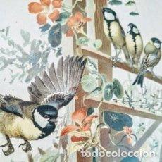 Arte: PRECIOSO GRABADO ART NOUVEAU CIRCA 1900 ANTIQUE UNIQUE. Lote 288861008