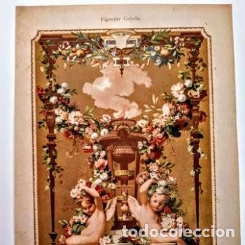Arte: Precioso Grabado Art Nouveau circa 1900 Antique Unique - Foto 2 - 288862088