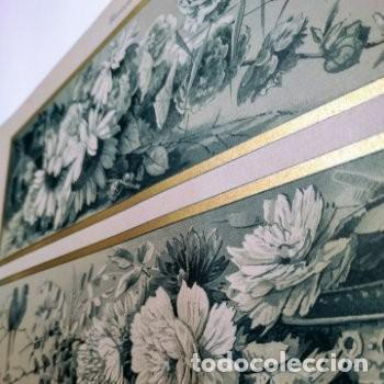 Arte: Precioso Grabado Art Nouveau circa 1900 Antique Unique - Foto 2 - 288862098