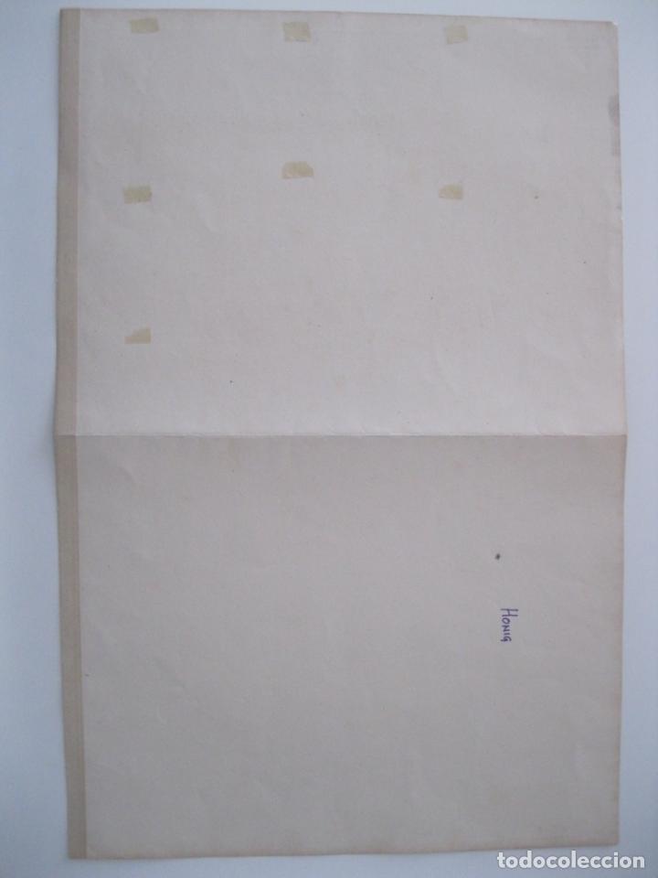 Arte: Canalización de Mosela (Alemania), hacia 1860. Anónimo - Foto 5 - 288916098