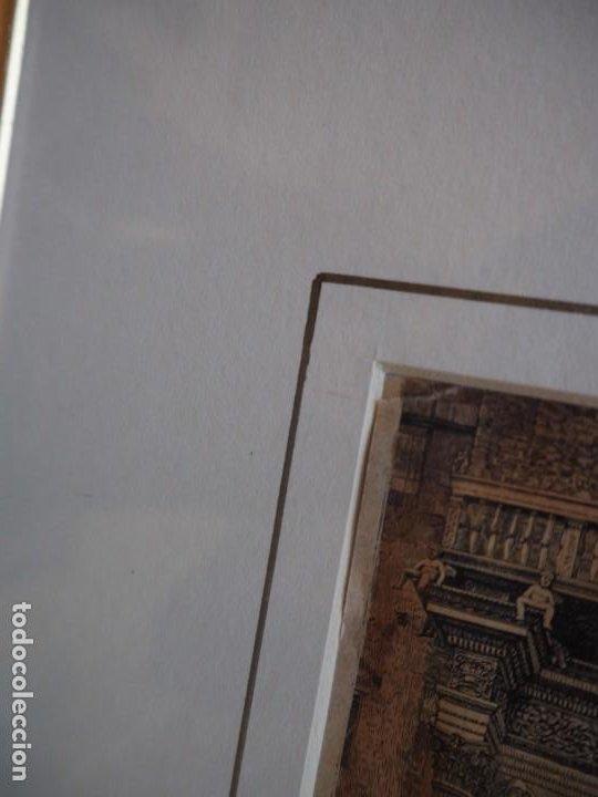 Arte: Palacio Prosperi- Sacrati. Ferrara. Grabado. Enmarcado. - Foto 6 - 288930388