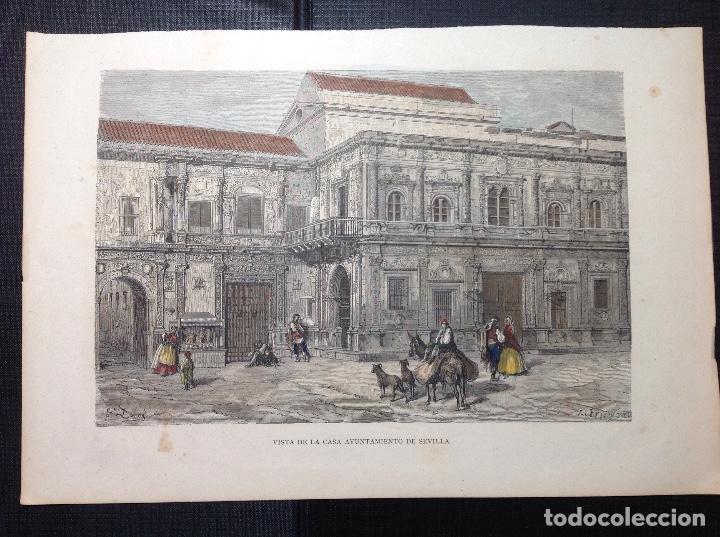 GUSTAVO DORE. AYUNTAMIENTO DE SEVILLA. (Arte - Grabados - Modernos siglo XIX)
