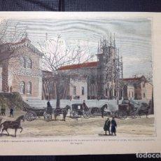 Arte: CAPUZ. EXTERIOR DEL NUEVO HOSPITAL DEL NIÑO JESUS.. Lote 288941593