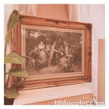 Arte: Gran Grabado Francés s.XIX ANTIQUE UNIQUE - Foto 2 - 288979518