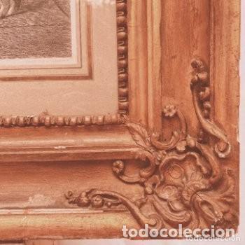 Arte: Gran Grabado Francés s.XIX ANTIQUE UNIQUE - Foto 4 - 288979518