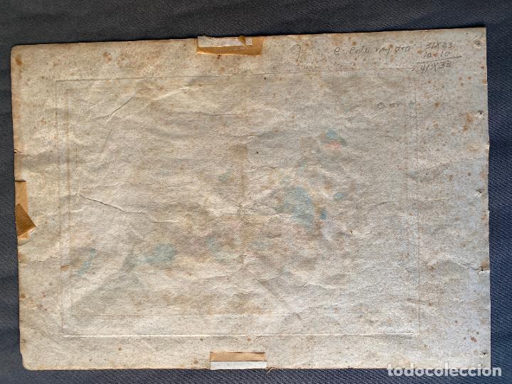 Arte: BARTOLOMEO PINELLI , ETCHING 1815 ROMA , COMITIVA , GRABADO DE 1815 - Foto 2 - 289814043