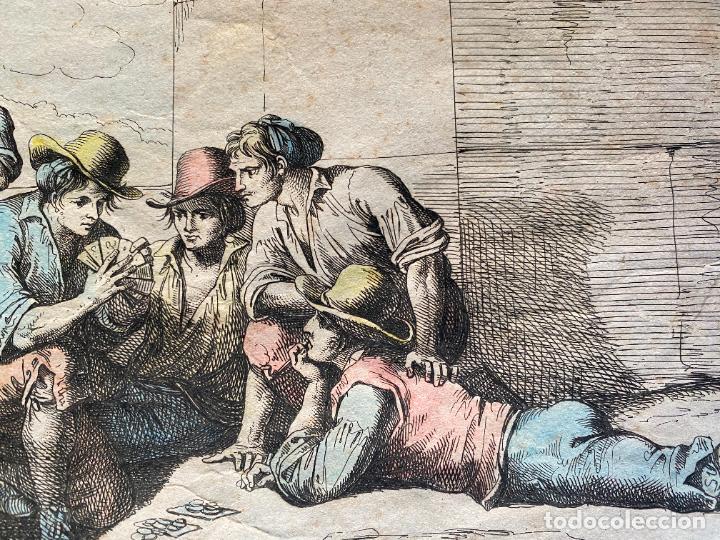 Arte: BARTOLOMEO PINELLI , ETCHING 1815 ROMA , COMITIVA , GRABADO DE 1815 - Foto 7 - 289814043
