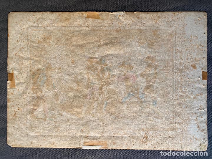 Arte: BARTOLOMEO PINELLI , ETCHING 1815 ROMA , IL GIOCO DI BOCCIA DI ROMA , GRABADO DE 1815 - Foto 2 - 289814408