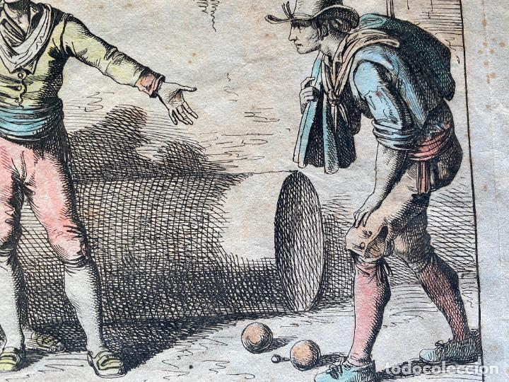 Arte: BARTOLOMEO PINELLI , ETCHING 1815 ROMA , IL GIOCO DI BOCCIA DI ROMA , GRABADO DE 1815 - Foto 6 - 289814408