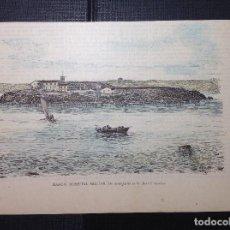 Arte: L. URGELLES. MAHON, HOSPITAL MILITAR. Lote 289868488