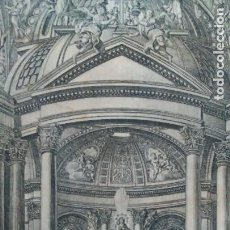 Arte: NUESTRA SEÑORA DEL PILAR DE ZARAGOZA - GRABADO DE MARIANO LATASA - AÑO 1805 - EXCEPCIONAL.. Lote 289886118