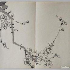 Arte: INTERESANTE GRABADO JAPONÉS ORIGINAL SIGLO XIX, SUMI-E, UKIYOE, GRAN CALIDAD. Lote 290745998